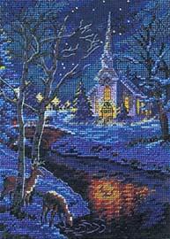 Часть 2 - Зимний пейзаж в вышивке Часть 3. Уютный зимний пейзаж всегда напоминает о праздниках, которые...